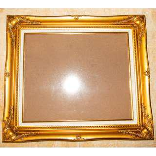 Wooden Gold Photo Wall Frame (New)