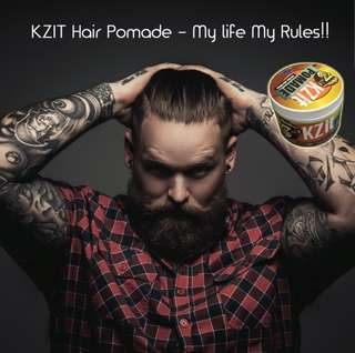free delivery kzit hair pomade
