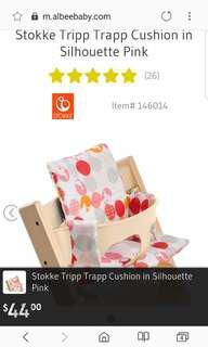 Stokke Tripp Trapp Cushion in Silhouette Pink