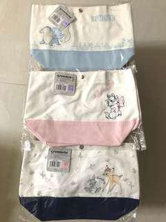 🚚 小鹿斑比 瑪莉貓 小飛象 小提袋 香港 7-11 限定 迪士尼 正版授權