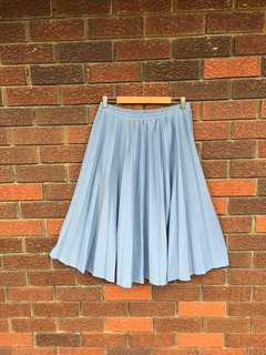 Retro Pleated Skirt