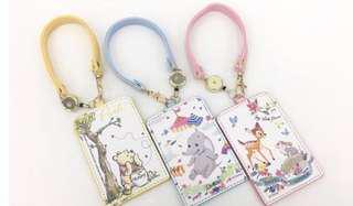 🚚 小鹿斑比 小熊維尼 小飛象 卡套 香港 7-11 限定 迪士尼 正版授權
