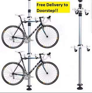 Frwe delivery Bicycle double Rack