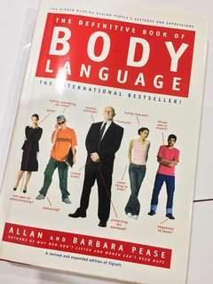 The Definitive Book of Body Language (HARDCOVER)
