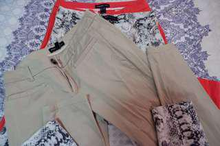 Mango pants 3pcs!