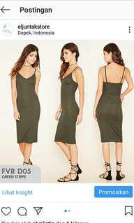 Midi dress f21