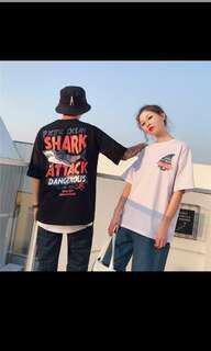 🚚 兇猛鯊魚原宿上衣