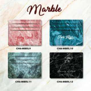 Custom Card Holder design Marble 3