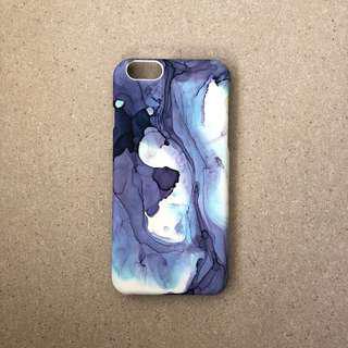 🚚 Blue Watercolour Pattern iPhone Case
