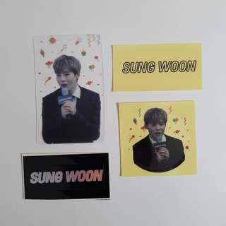 wanna one ha sungwoon fansite goods