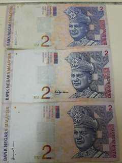 RM2 Duit Kertas Lama