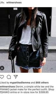 Wittner Black Leather Jacket