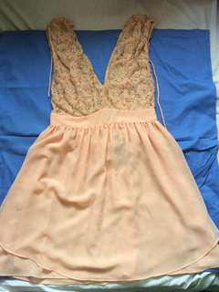 Brand New, Never Used ASOS Formal Peachy Dress