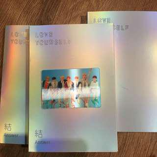 [Ready Stock] BTS LOVE YOURSELF 結 'Answer' Special Photocard