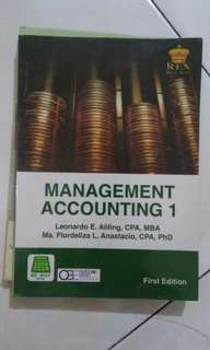 Management Accounting part 1