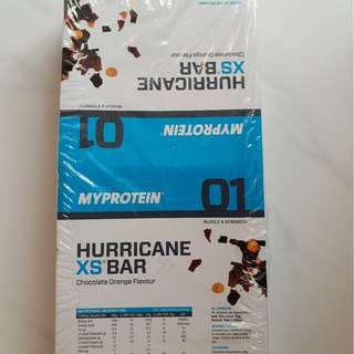 Sealed Protein Bar HURRICANE XS BAR