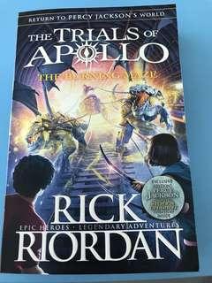 🚚 The Trials of Apollo - The Burning Maze by Rick Riordan