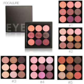 Focallure eyeshadow READY STOCK !!