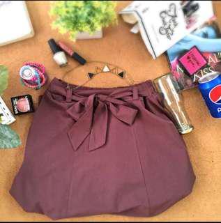 Ribbon Long Skirt