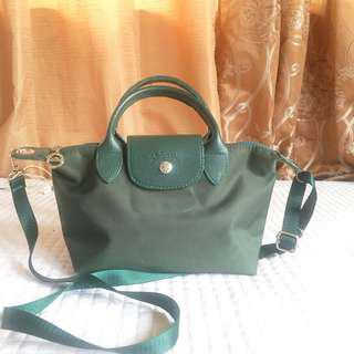 Longchamp Mini Dark Green
