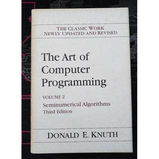 The Art of Computer Programming Vol 2 - Seminumerical Algorithms by Donald Knuth