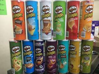 Pringles (13 Flavors Available)