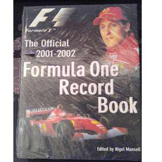 The Official 2001-2002 Formula One Record Book