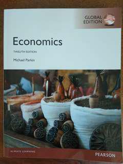 Michael Parkins Economics 12th Edition Global Edition