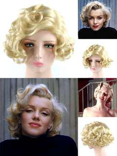 Hollywood collection Marilyn Monroe butter blonde wig