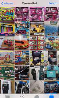 Barangan mainan dan elektronik
