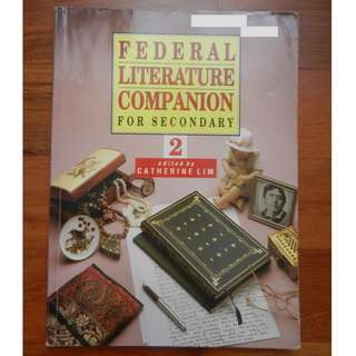 'Federal Literature Companion for Secondary 2' edited by Catherine Lim / 'Functional Writing: Postcards, Messages, Notes' by Lim Hwee Hong