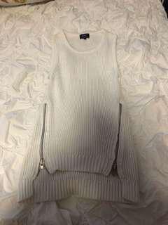 Bardot white knit