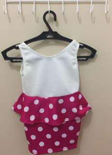 Kids Dress (polka)