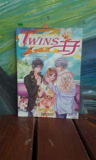 🚚 暢銷漫畫改編小說版-TWINS王子