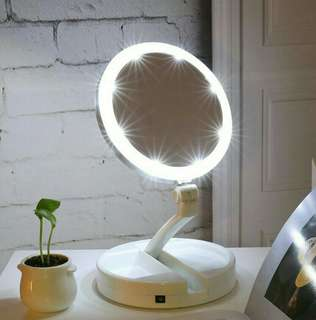 FREE POSTAGE! Double Sided LED Vanity Mirror