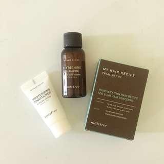 Innisfree My Hair Recipe Trial Kit