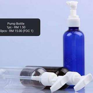 Pump Bottle 100ml ( 10 free 1 )
