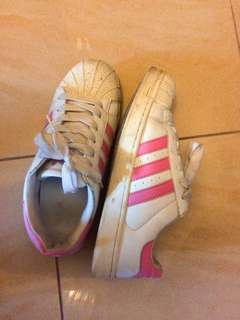 Adidas superstar pink shoes 波鞋