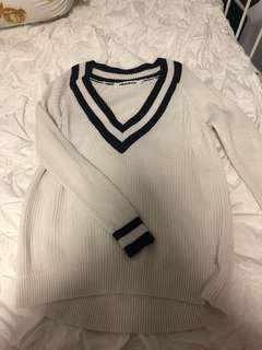 Milkandhoney oversized v neck knit