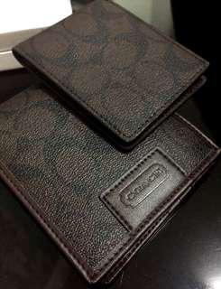 COACH double wallet (Authentic)