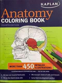 Anatomy Coloring Book, 4th ed. KAPLAN