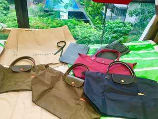 Authentic BN Longchamp Bags