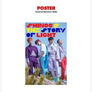 SHINEE - THE STORY OF LIGHT (POSTER)