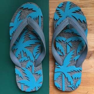 🚚 [全新]海灘風夾腳拖鞋