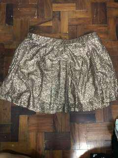 Say What? Sequins skirt