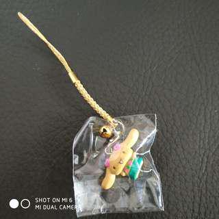 玉桂狗吊飾