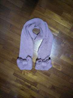 🚚 圍巾 [中間有口袋]
