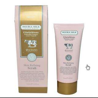 SCENTIO SCRUB DOUBLE MILK original