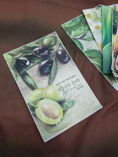 Masker Nature Republic (Olive)