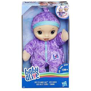 BABY ALIVE: Love My Blankie Baby (Purple)